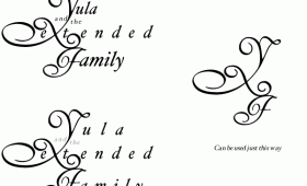 <b>Yula & the Extended Family</b> logo