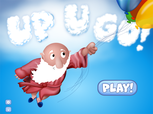 Up U Go! main menu