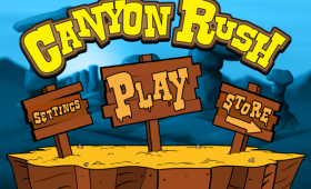 <b><em>Canyon Rush</em></b> Art & Development